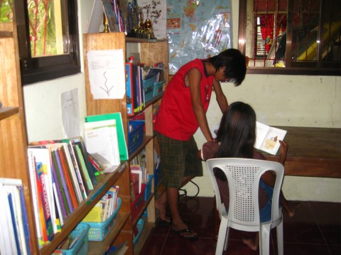 A Reading Room of Our Own: A Project by and for Filipino Kids