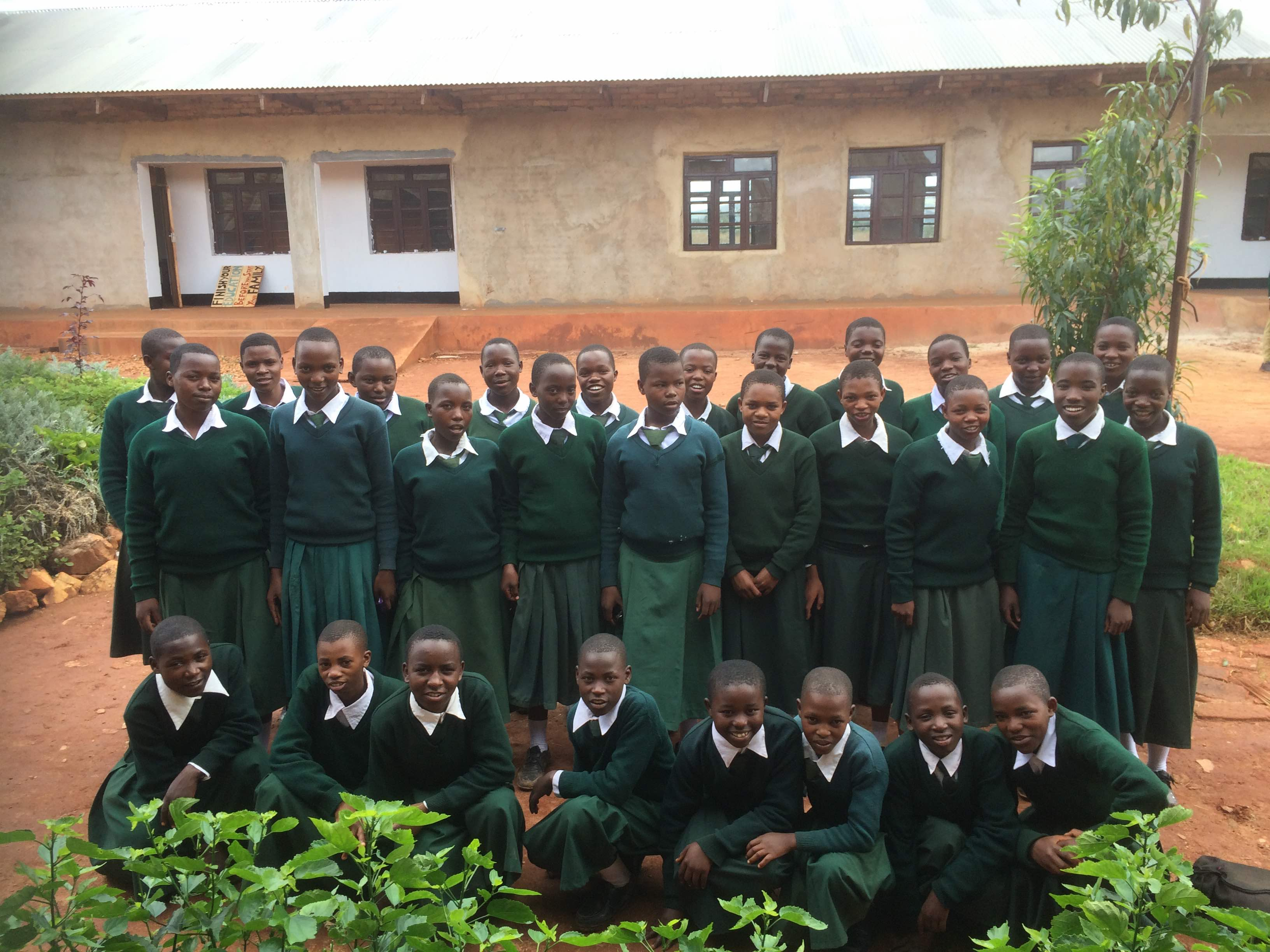 Mnyigumba Secondary School Girls Dormitory