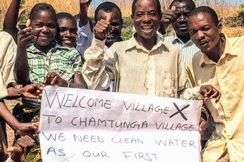 Clean Water in Chamtunga