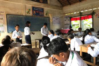 Supporting Education in Cambodia: Library, Office, and Clean Drinking Water Project