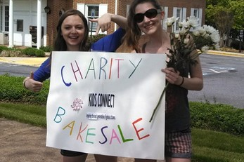 Clarksburg High School (MD) Bake Sale Fundraiser